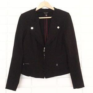 White House Black Market Black Long-Sleeve Blazer